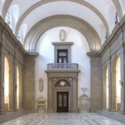 Bodemuseum Basilika Stirnseite zur kleinen Kuppel