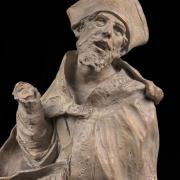 Puget - Modell Statue des Heiligen Alessandro Sauli