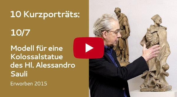 KFMV Video-Kurzportraits: 07 Puget - Modell für eine Kolossalstatue des Heiligen Alessandro Sauli