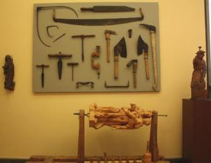 KFMV: Wie eine Skulptur entsteht - Werkzeug