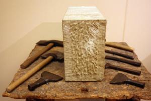 KFMV: Wie eine Skulptur entsteht - Stein