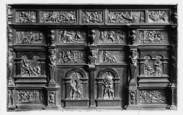 Reliefs mit Herkulesszenen