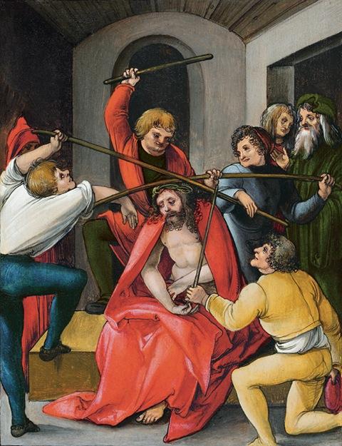 Hans Schäufelein - Dornenkrönung Christi