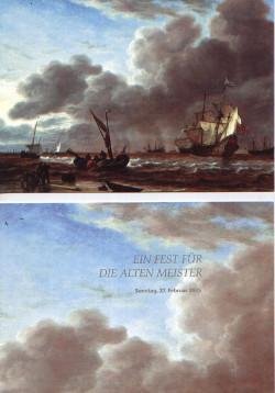 """""""Fregatte Amsterdam"""" von Simon de Vlieger, Einladungskarte KFMV"""
