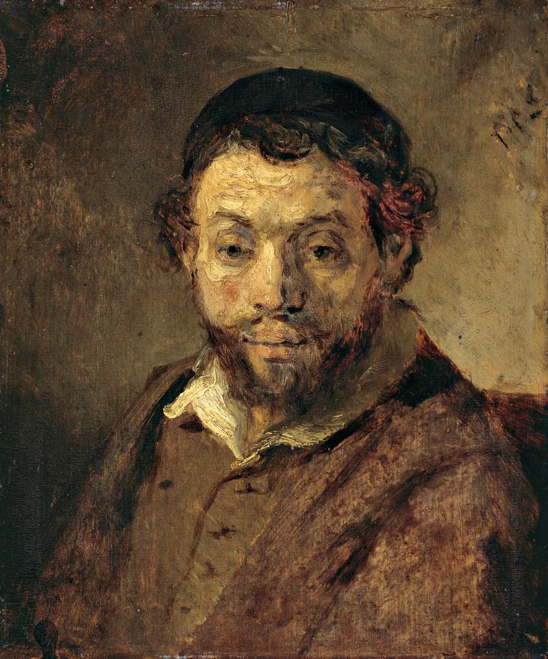 Bildnisstudie eines jungen Juden