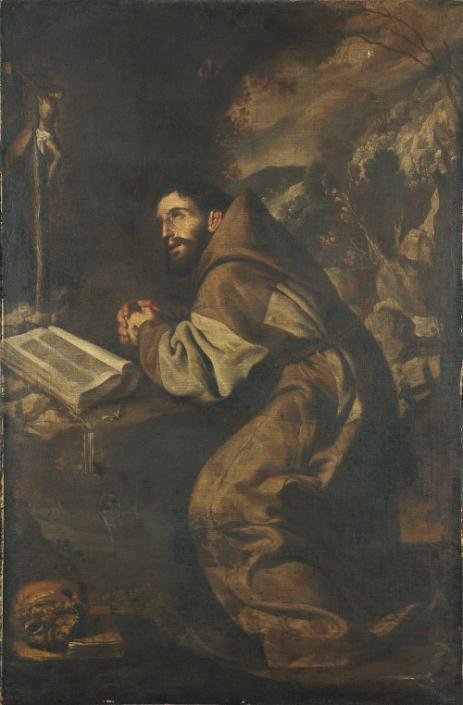 Antonio del Castillo y Saavedra - Der heilige Franziskus betend