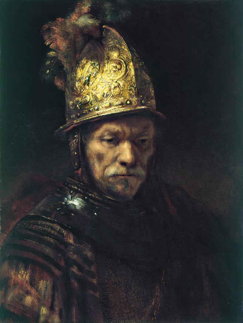 Der Mann mit dem Goldhelm