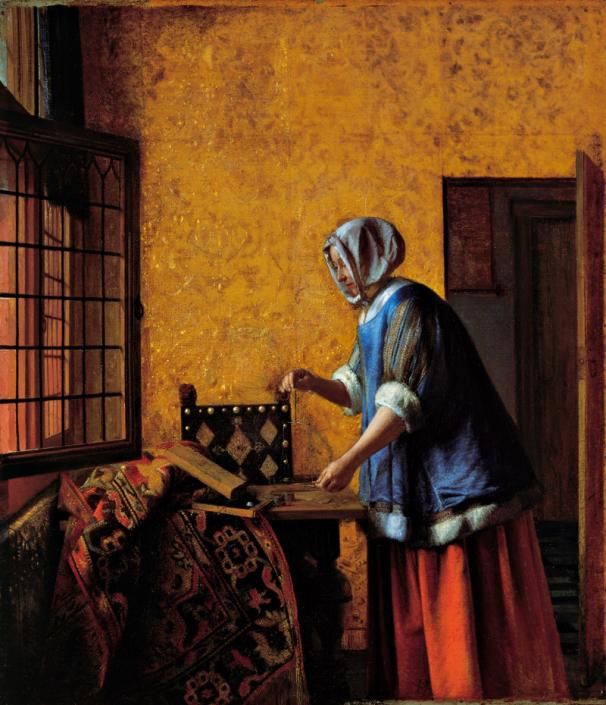 Die Goldwägerin