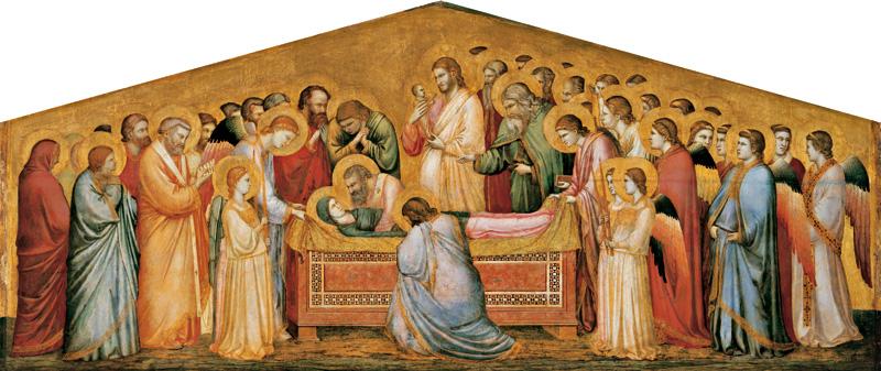 Giotto - Die Grablegung Mariae