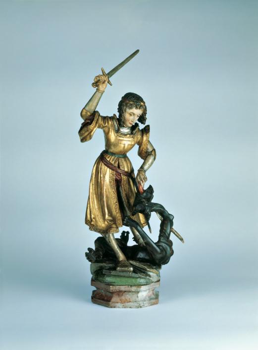 Heiliger Georg im Kampf mit dem Drachen