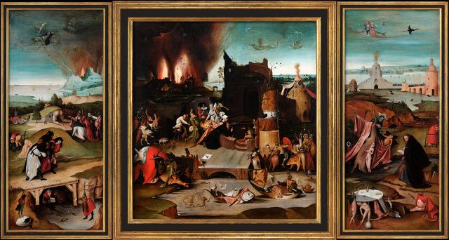 Bosch Antonius Visualisierung